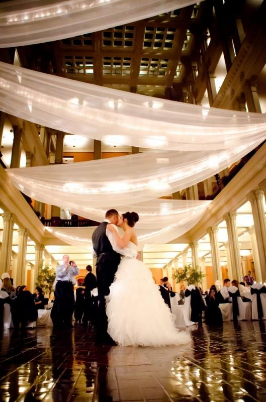 Ceiling Draping and Other Draping - Wedding Decoration Rental Minnesota : We've Got It Covered