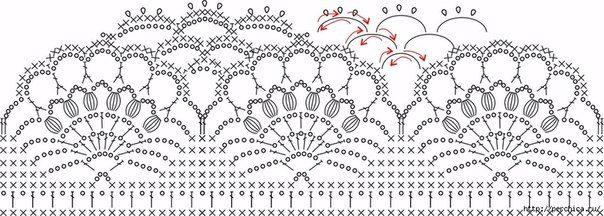 Delicadezas en crochet Gabriela: Chaqueta abierta punto piña con delicada guarda en ganchillo