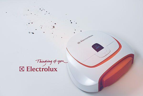Robot Vacuum - Electrolux on Behance