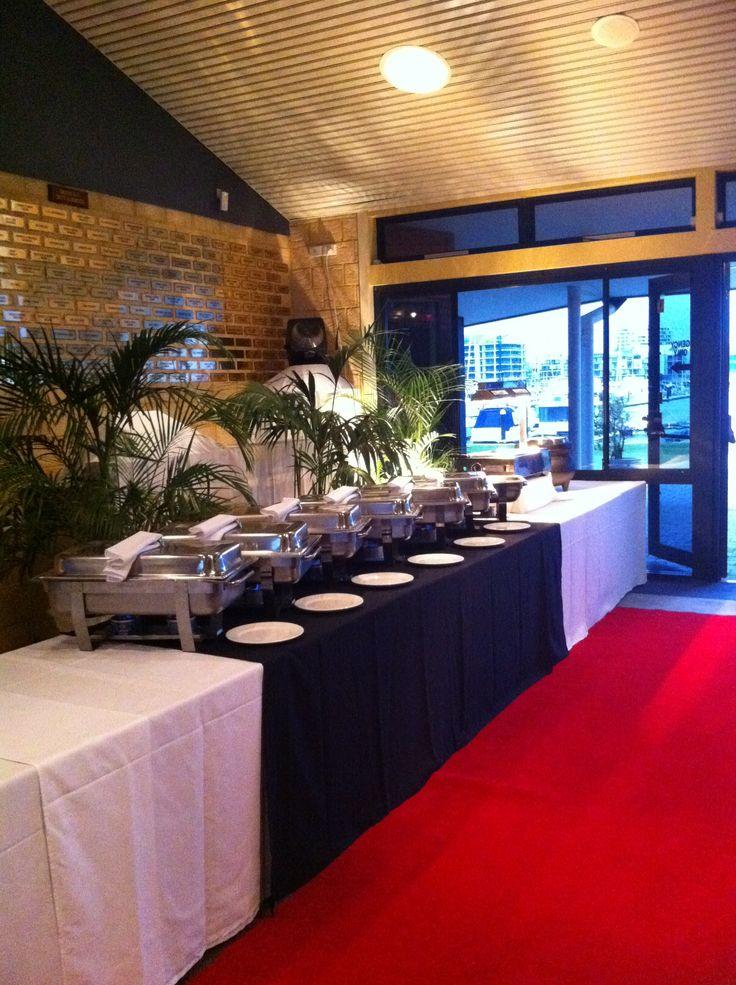 Mandurah Wedding Venue Buffet setup #wedding #mandurah #mofsc #events #venue #reception #dining #buffet #food www.mofscevents.com.au