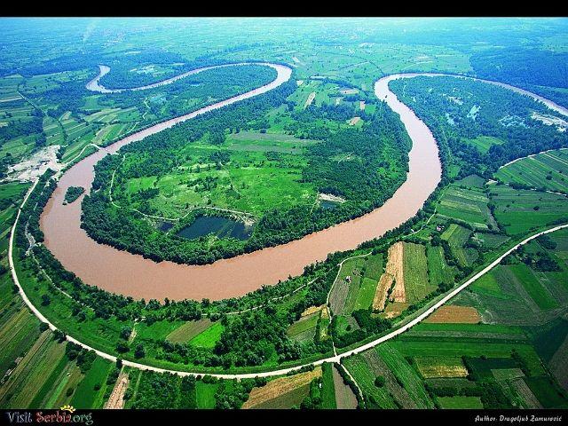 Morava Meander at its self.