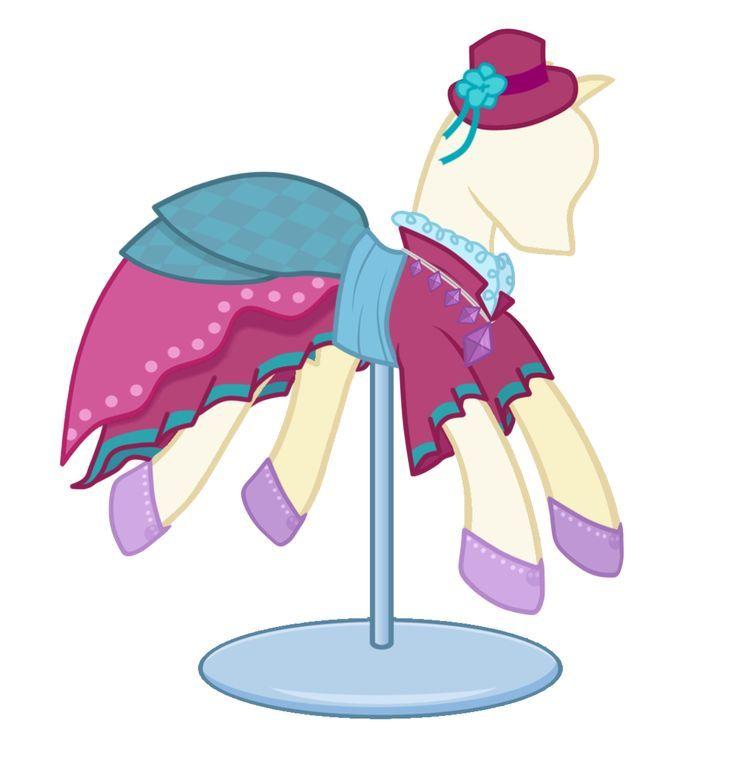 этом картинки пони с нарядами просто