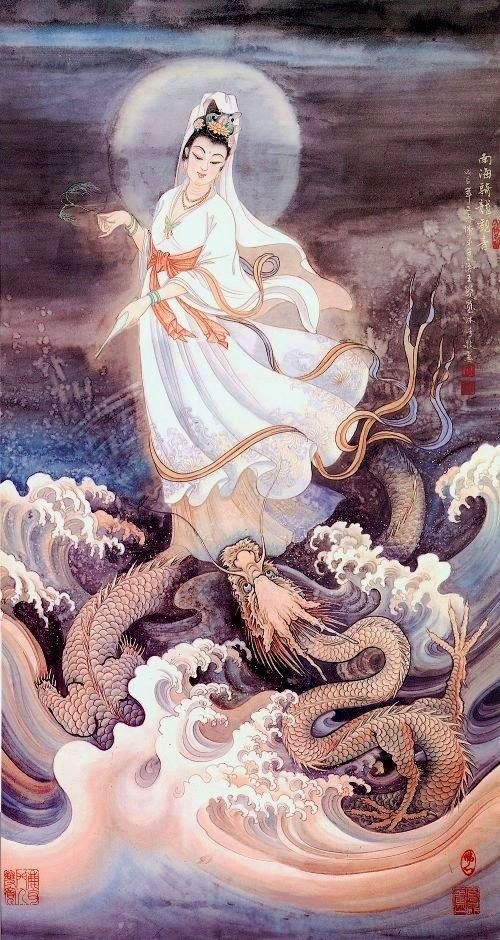 GUANYIN - She who rides the dragon's breath