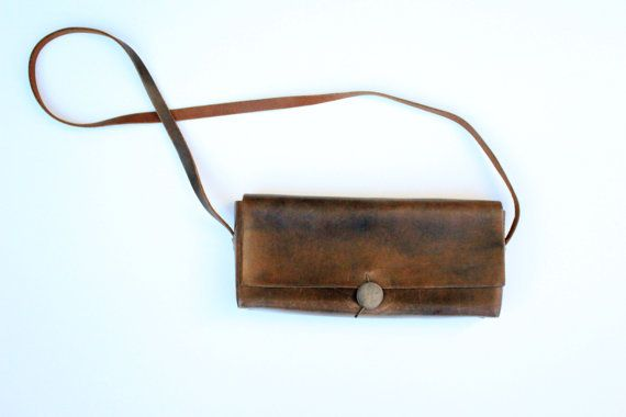 ,,: Brown Leather Purses