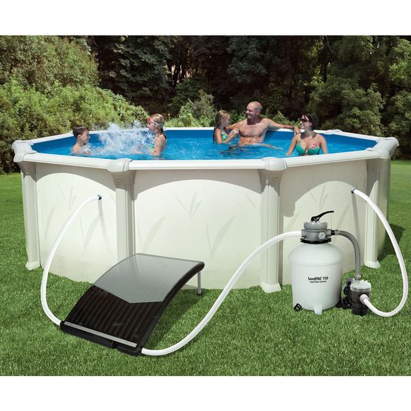 1000 id es sur le th me above ground pool heater sur for Chauffer piscine intex