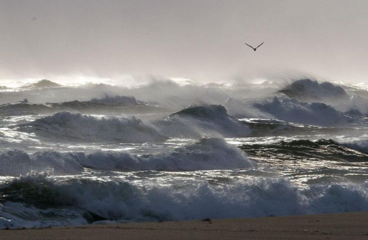 Surfside Beach, Nantucket on a stormy winter day 12/22/12