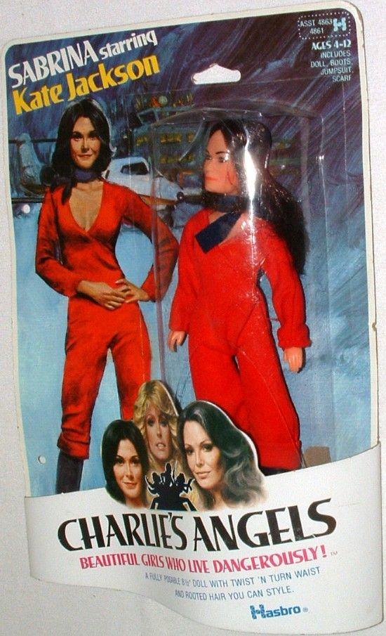 HASBRO: 1977 Charlie's Angels SABRINA doll (Kate Jackson) #Vintage #Toys