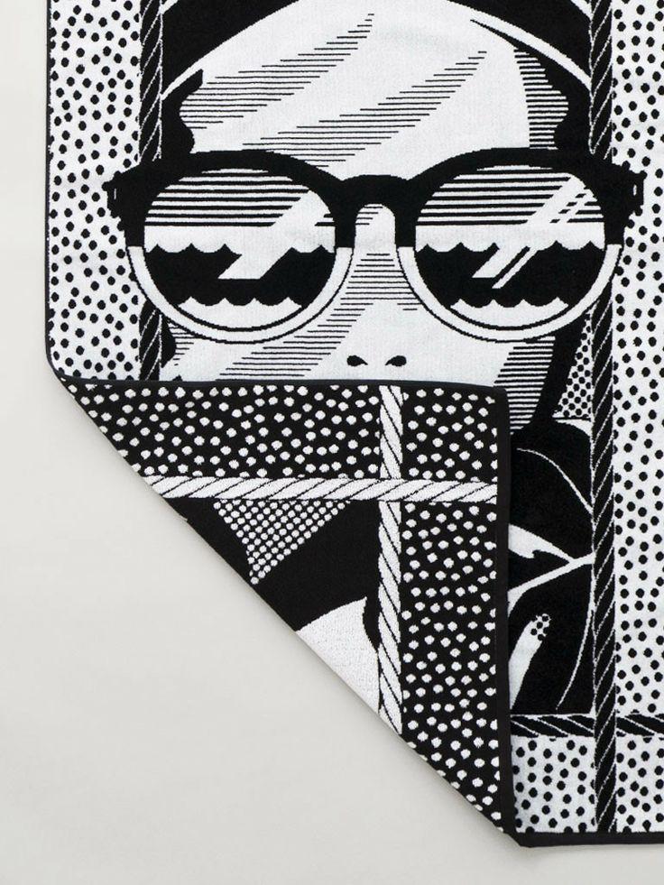 OOO NYC   Ipanema Beach Towel $85 Woven terry velour beach towel. 100% cotton   Made in the USA