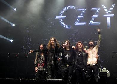 "Ozzy Osbourne, Rob ""Blasko"" Nicholson, Adam Wakeman, Tommy Clufetos and Gus G"