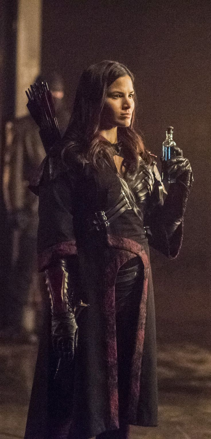 Arrow 4x13 - Nyssa al Ghul (HD)