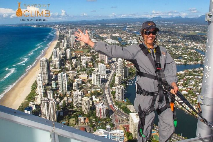 Skypoint climb on the Gold Coast, Queensland, Australia
