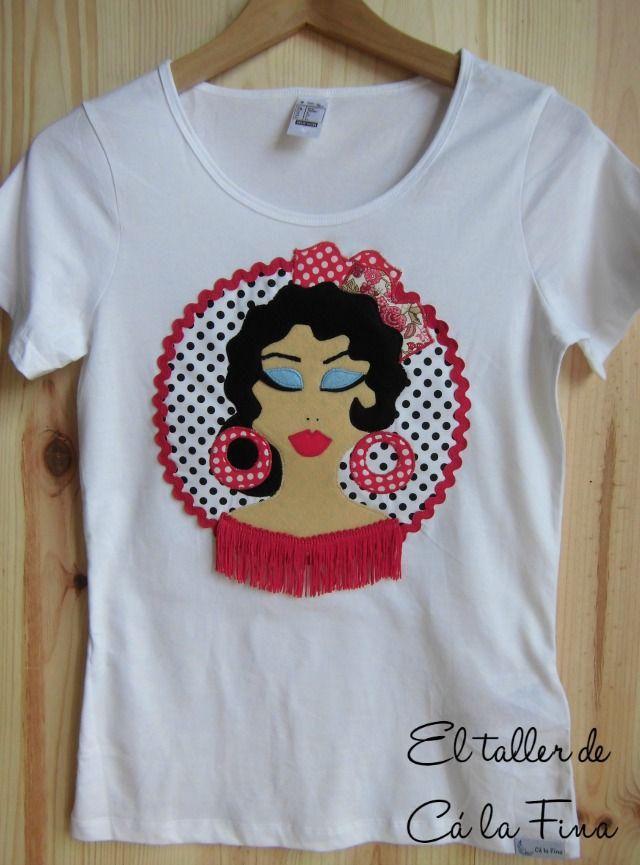 Cá la Fina.  Camisetas flamencas para romerías 2