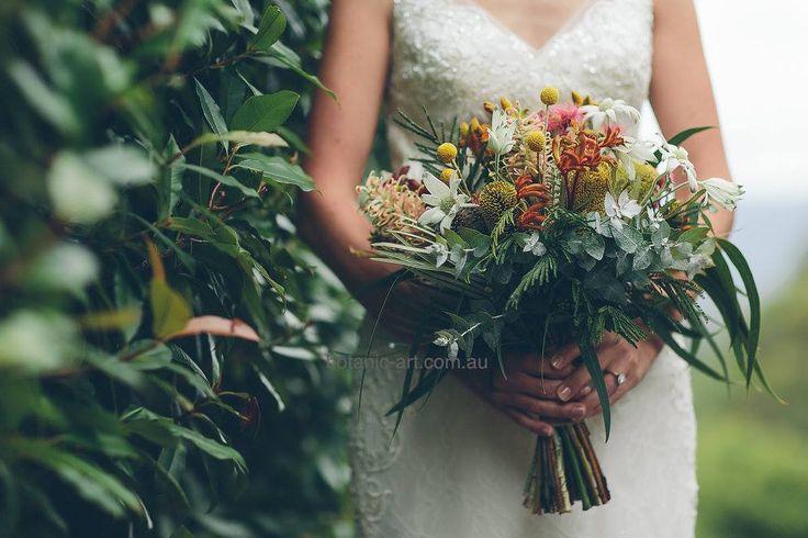 #native flowers #bouquet #country style #rustic #elegant #bluegum #greenery #australian natives