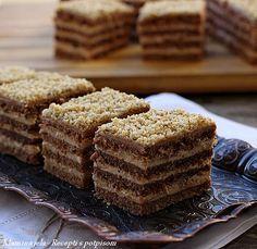 Sastojci korice 450 g. brašna 100 g. maslaca ili margarina sobne temperature 180 g. šećera 100 g. mlevenih oraha 2 kašike ...