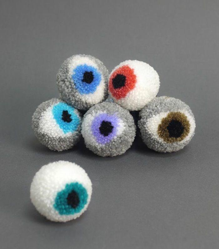 Diy Projekte Kreative Ideen Augen Pompons