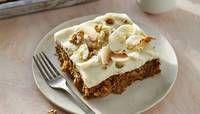 Carrot-Walnut-Coconut Sheet Cake image