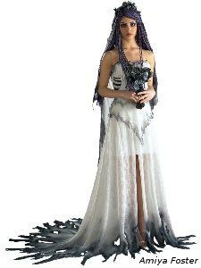 1000  images about Halloween Wedding Dresses on Pinterest ...