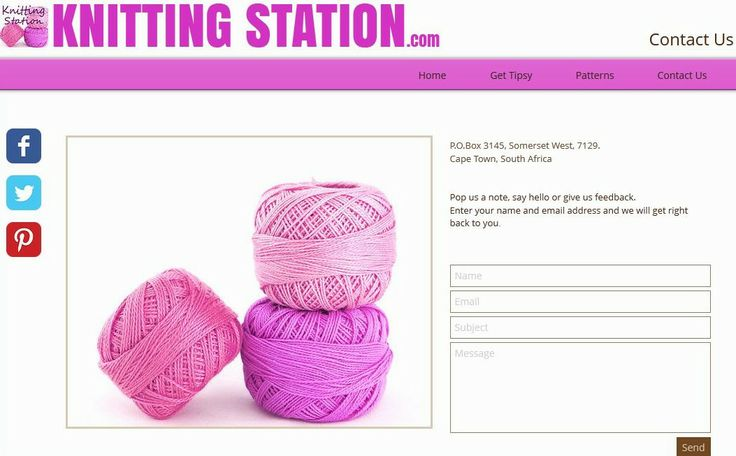 Contact Us via our webpage: http://www.knittingstation.com with your favourite Yarn Store or Online Yarn Store