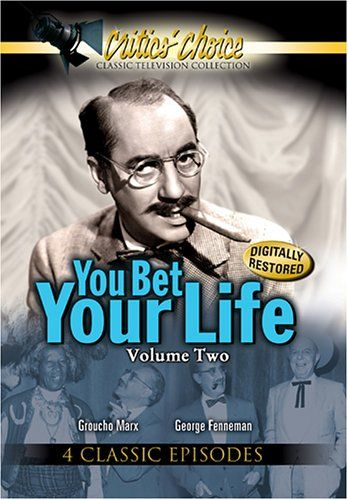 would you bet your life on You bet your life was originally broadcast on radio beginning in 1947, initially moving to television in 1950 as a radio show with cameras on the program, contestants could say the secret word and win a hundred dollars and a paper-mache duck would come down with the loot.