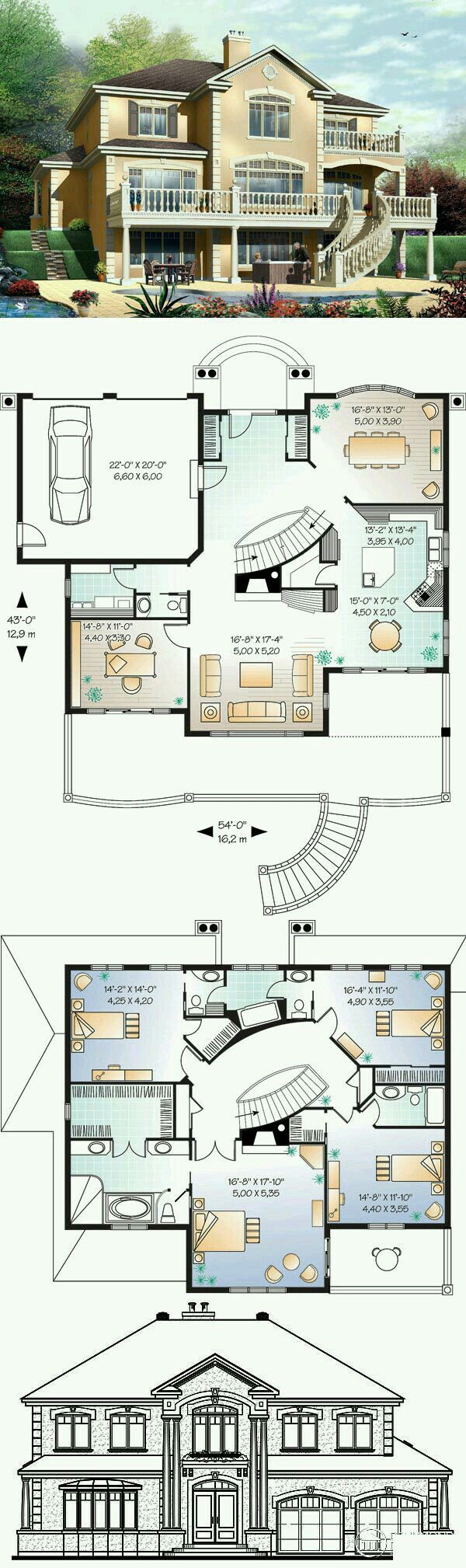 49 Best Luxury House Plans Images On Pinterest Luxury House Plans Luxury Houses And Dream