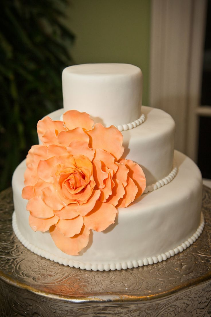 Extra petals for the Large Gumpaste  Flower for wedding cakes, DIY wedding cake kit. $8.00, via Etsy.