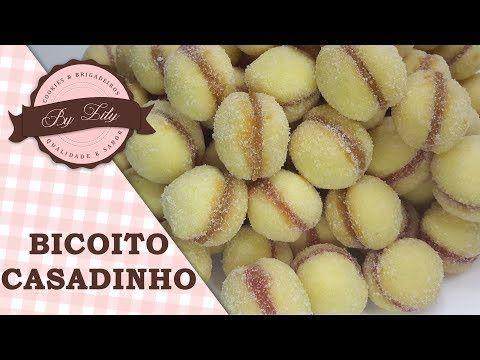 Aprenda Biscoito Casadinho Ingredientes 250g De Farinha De