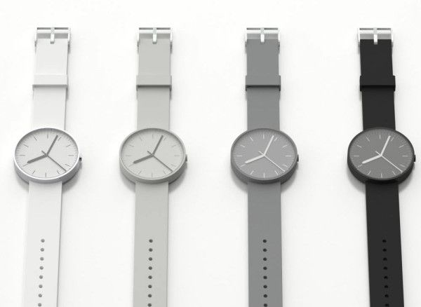 The Uniform Wares' 100 Series Watch in two striking colorways, both produced using 7000 Series aluminium