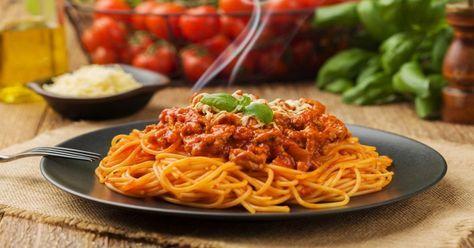 Ma mère a toujours su comment cuisiner une vraie de vraie bonne sauce à spaghetti