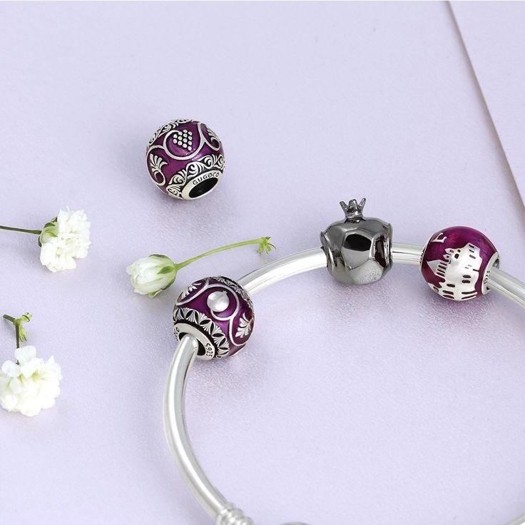 Pomegranate Crystal Mosaic Earrings wVFIH0aU