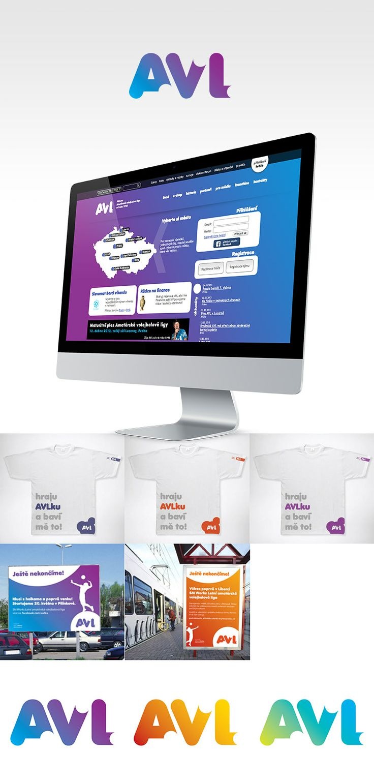 www.avlka.cz #visualidentity #logo #webdesign #onlineapplication
