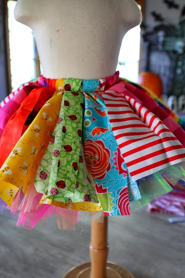 clown outfit made from an apron   Double layering your tutus makes them super fluffy