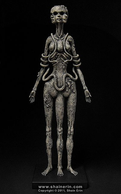 'Hecate Sculpture' by Shain Erin.