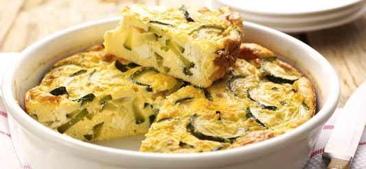 Delhaize - Frittata aux courgettes et à la feta