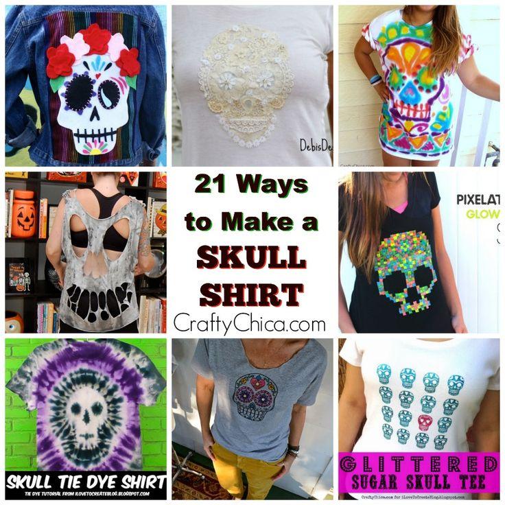 Best 25+ Skull shirts ideas on Pinterest | Cute cut shirts ...