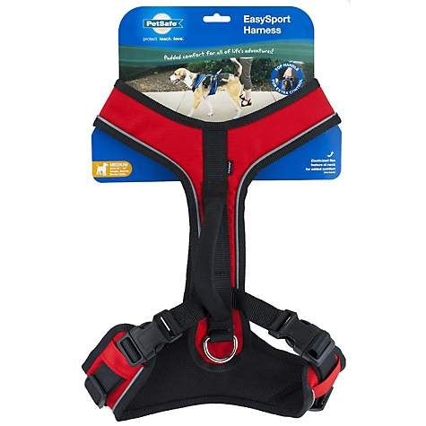 Petsafe Easysport Red Dog Harness Large 28 42 Girth Dog Harness Red Dog Dogs