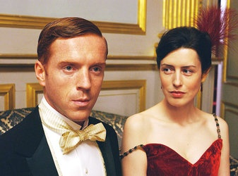 "Damian Lewis and Gina McKee in ""The Forsyte Saga,"" from 2002."