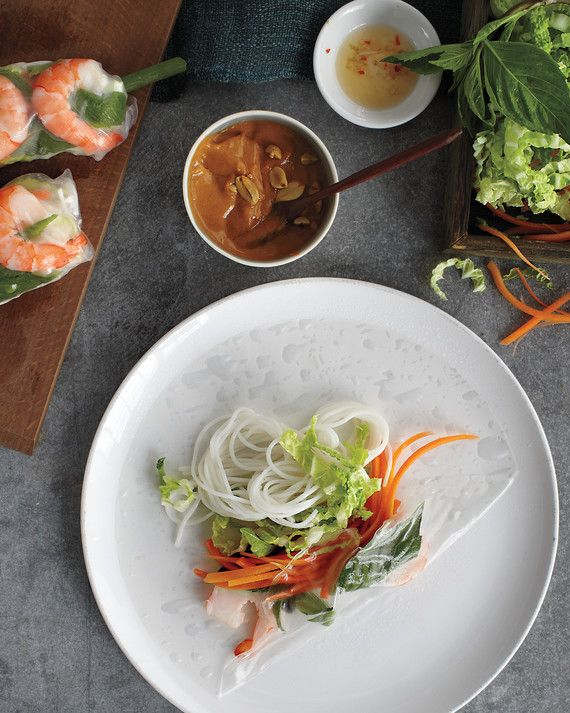 A refreshing salad rolled up in rice paper is one of Vietnam's culinary treasures.Get the Shrimp Summer Rolls Recipe