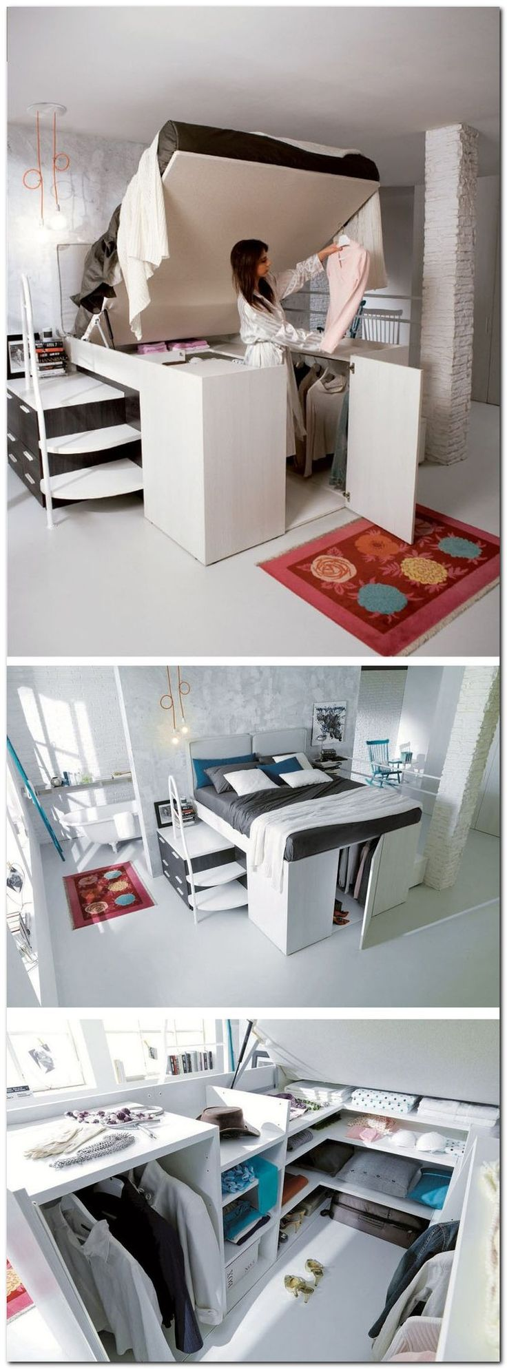 Best 25+ Small Bedroom Organization Ideas On Pinterest | Decorating Small  Bedrooms, Small Desk Bedroom And Small Bedroom Storage