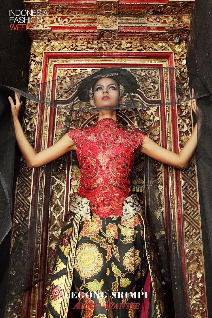 Kebaya Indonesia , Legong Srimpi , Designed by Anne Avantie