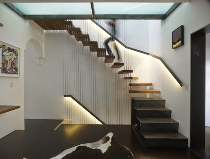 stairway lighting ideas. indoor stair lighting has a practical function as well decoration purpose one of the ideas is installing led lights on stairway