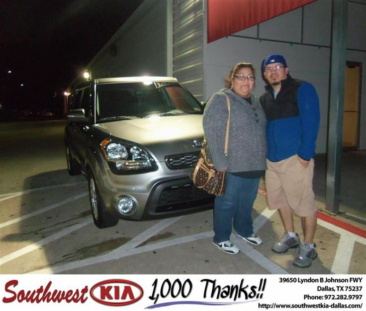 #HappyAnniversary to Juan Zuniga on your 2013 #Kia #Soul from Fernando Silva-Alvarez at Southwest Kia Dallas!