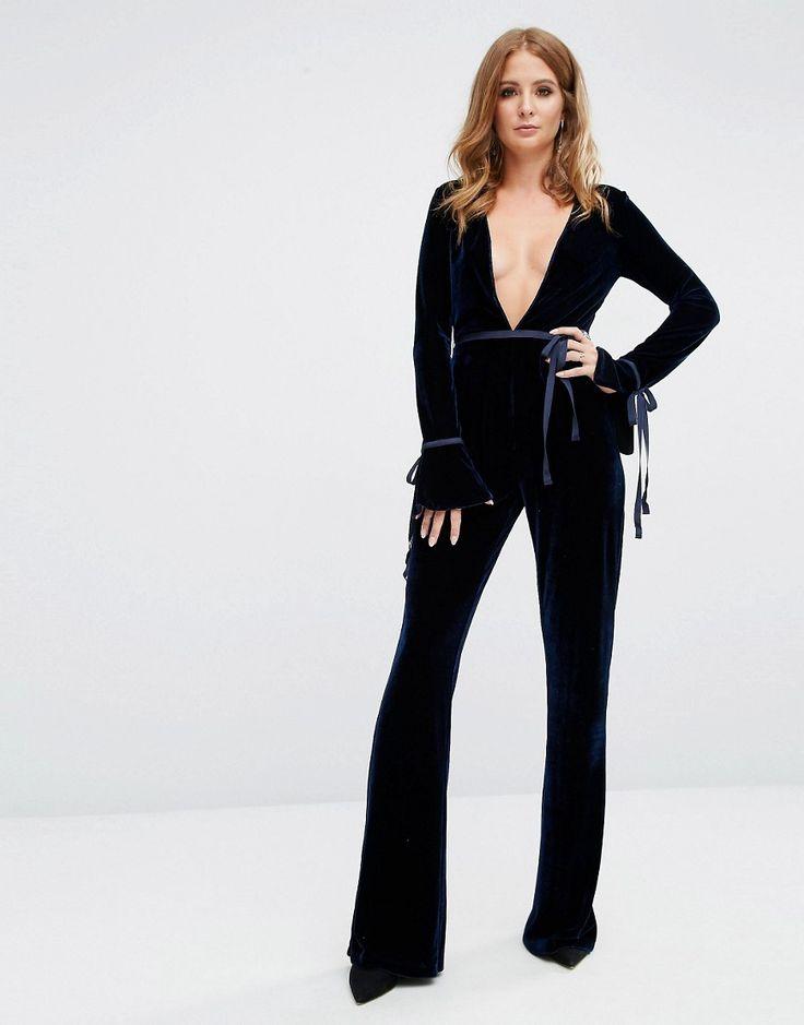 Image 4 ofMillie Mackintosh Velvet Jumpsuit