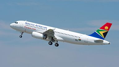 South African Airways takes delivery of its first two A320s