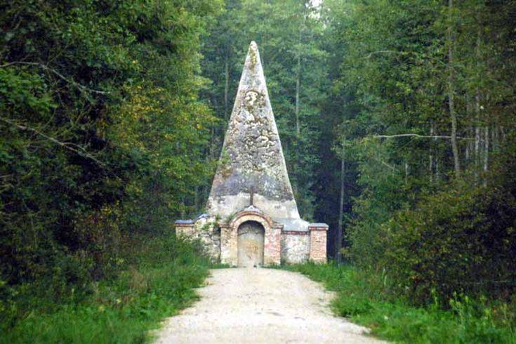 Pyramid in Rapa Poland