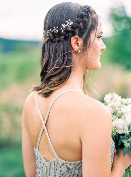 Les coiffures de mariée à tresses 2017 les plus stylées Image: 1
