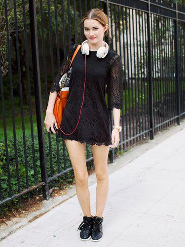 NYFW Model Street Style: Maddie White
