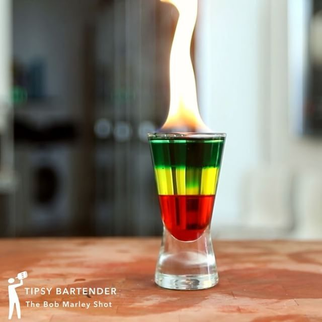 Feeling a little adventurous and experimental? Next time you invite friends over for a drink, try a flaming cocktail. Set your cocktail on fire and never have a boring drink again!  Warning!  This is dangerous, don't try it at home!  Let a professional do it!