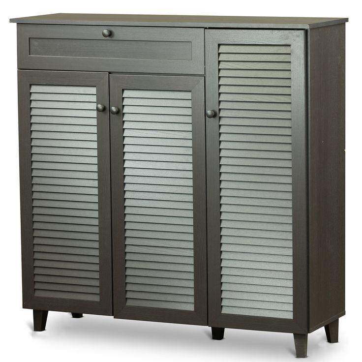 Katherine 20-Pair Shoe Storage Cabinet