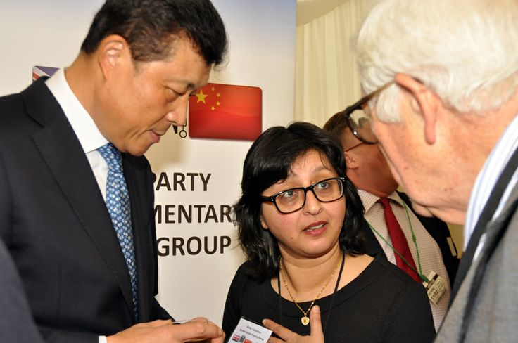 His Execellency Liu Xiaoming and Refat Yasmeen with Lord Howe
