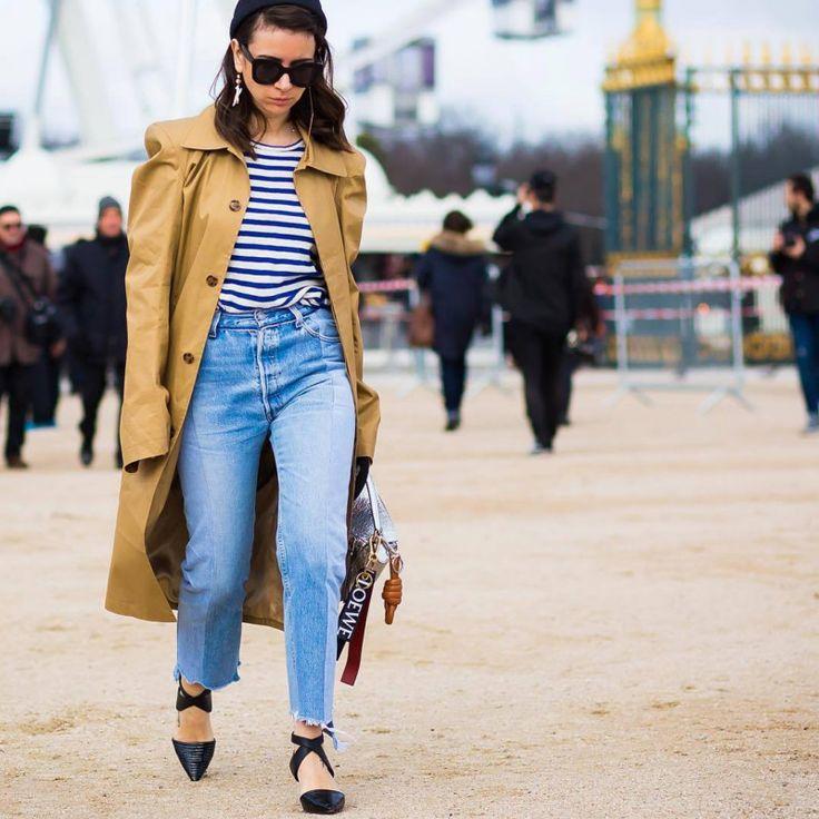 Прямая линия: как правильно обрезать джинсы. Галерея №1